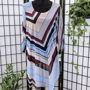ALFANI NWT Graphic Oasis Dress. Size XL